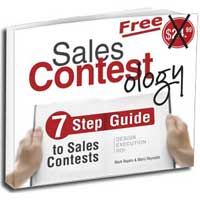 Sales Contest Guide to design