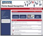 Employee points program