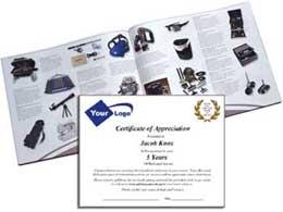 employee service award letter